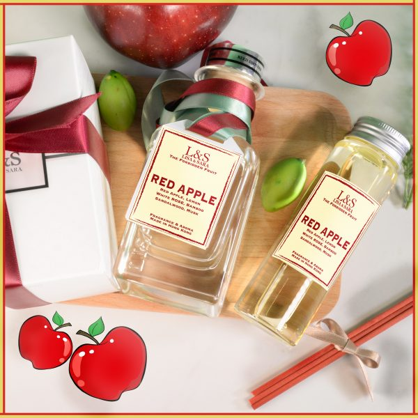 Red Apple Reed Diffuser