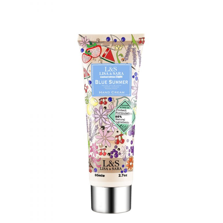 Blue Summer Light Hand Cream