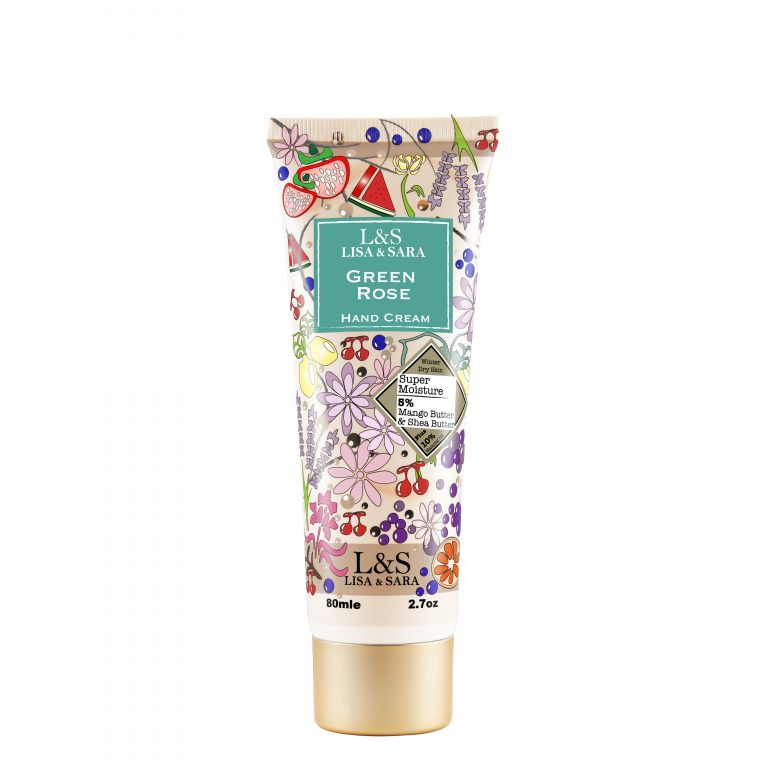 Green Rose Hand Cream