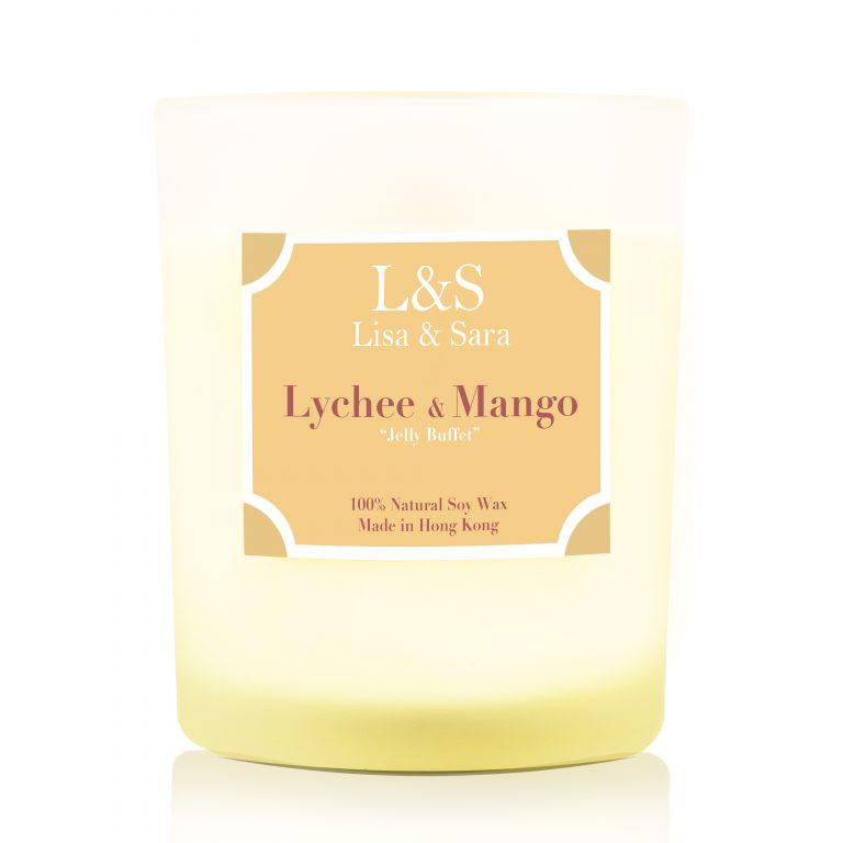 Lychee & Mango Soy Wax Candle