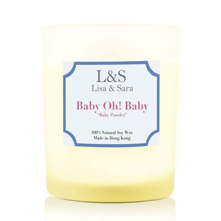 Baby oh Baby Soy Wax Candle
