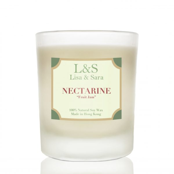 Nectarine Soy Wax Candle