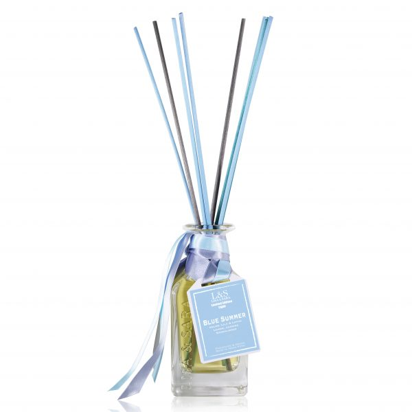 Blue Summer Light Reed Diffuser