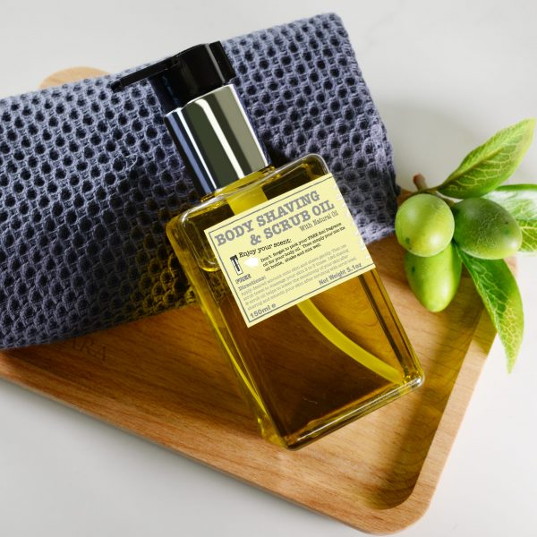 Body Shaving & Scrub Oil