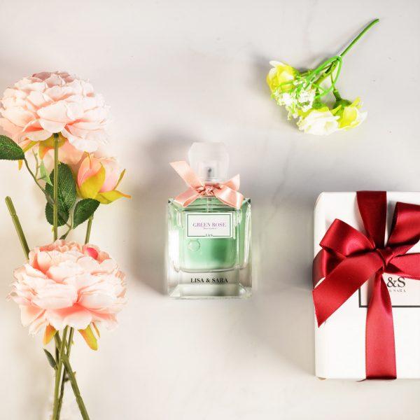 Green Rose Aqua Perfume