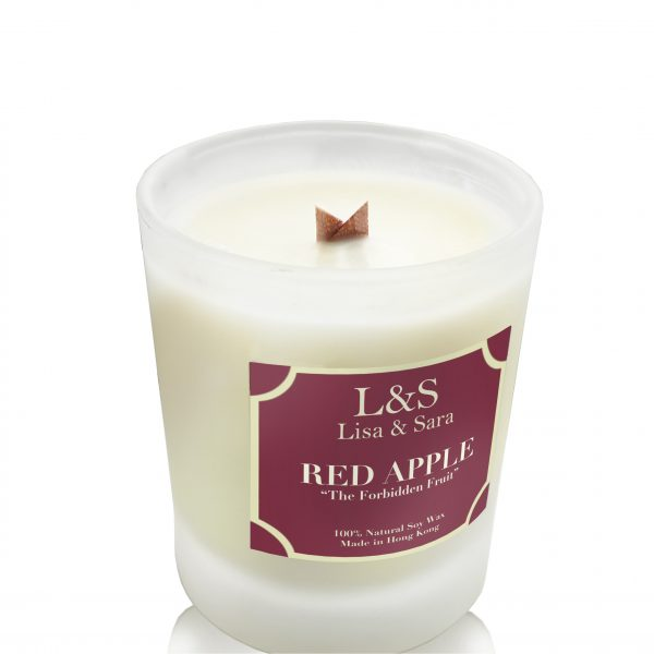 Red Apple Soy Wax Candle