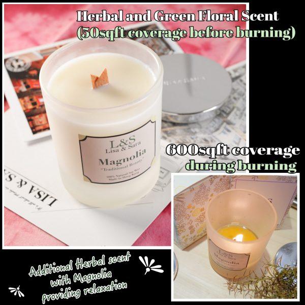 Magnolia Soy Wax Candle