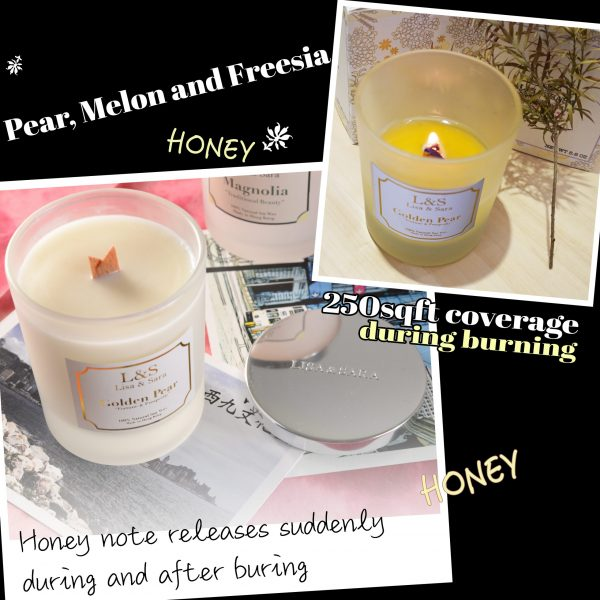 Golden Pear Soy Wax Candle